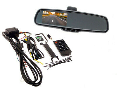 Universal 4.3 Inch FULL HD DVR rear view mirror monitor