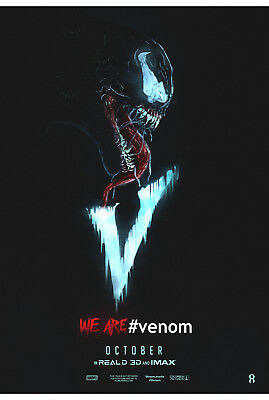 Venom Marvel Movie Poster Print T447 |A4 A3 A2 A1 A0|