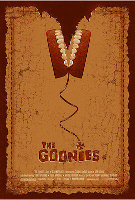 The Goonies Classic Movie Poster Print T500 |A4 A3 A2 A1 A0|