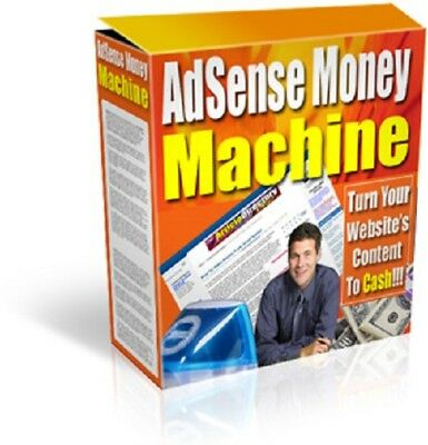 AdSense Money Machine PDF eBook + Master Resell Rights + 5 FREE eBooks