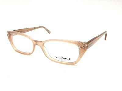 5e76dc44206  350 Versace Womens Brown Eyeglasses Frames Glasses Optical Italy Lens Mod  3150