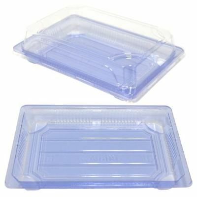 Clear Sushi Containers 7.2x5x1.7 (500 Sets)