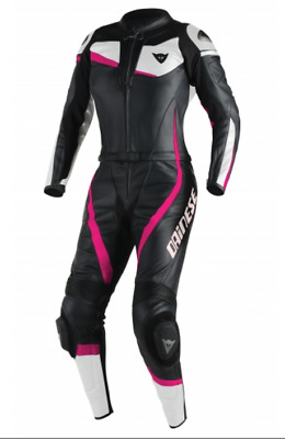 Dainese T Veloster Two 2 Piece Lady Leather  Motorcycle Suit