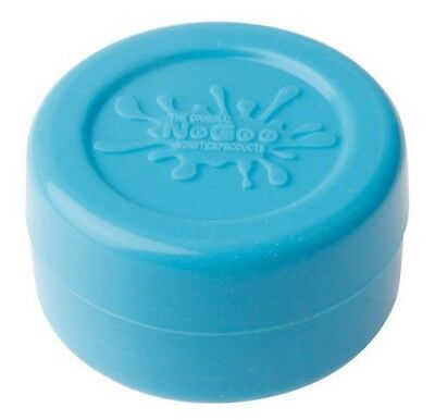 NoGoo Silicone Large Container Blue Nonstick Jar Holds 10ml Free Shipping NEW