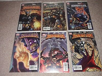 Stormbreaker: The Saga of Beta Ray Bill 1 - 6 complete set. Marvel Comics