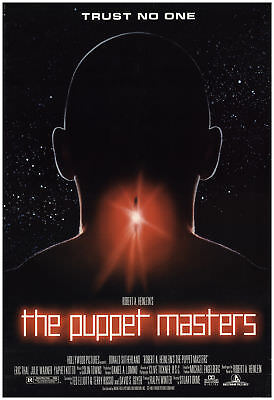 The Puppet Masters 1994 27x40 Orig Movie Poster Fff 68216 Rolled