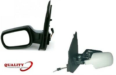 MK6 INCL VAN 2002-2005 CABLE WING MIRROR BLACK COVER DRIVERS SIDE