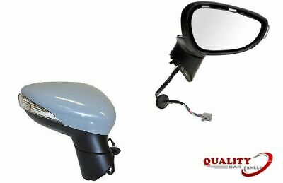 Door Wing Mirror Electric Primed Indicator Right O/S Ford Fiesta Mk7 2008-2012