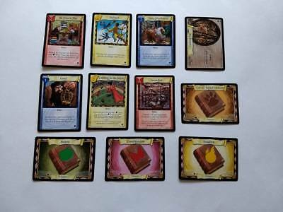 Harry Potter Trading Card Game 2001 ~ Lot of 11 Cards