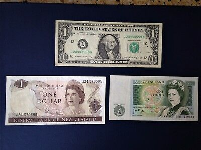 currency small notes mixed bag 3 circulated different types as seen in picture