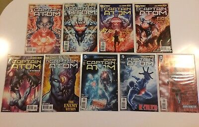 Lot of 9 Captain Atom Vol 4 #1 2 3 4 5 6 7 8 9 DC Comics (2011) VF/NM New 52