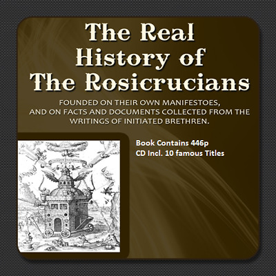 CD - The Real History of the Rosicrucians + Bonus 10 Famous Books