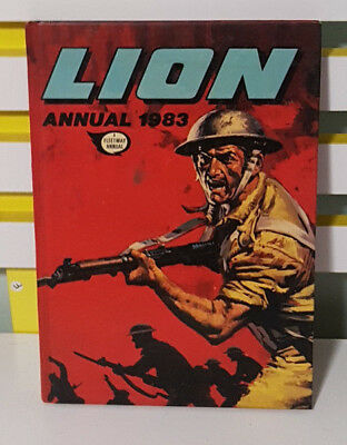 Lion Annual! Hardcover Fleetway Annual Book From 1983!