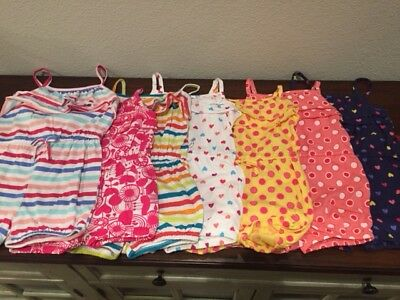 NEW ROMPER Shorts Ruffle Toddler & Girls CUTE! SPRING and SUMMER SAME Day Ship!