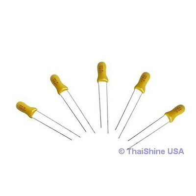 10 x 1uF 35V Radial Capacitor Tantalum 4 Days Delivery!