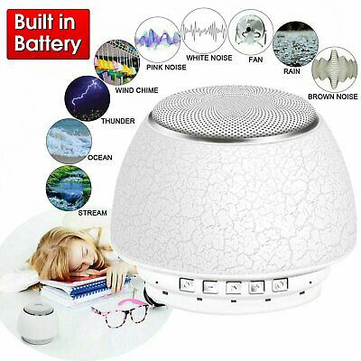 Mini Deep Sleep Machine White Noise Baby Therapy CORDLESS 9 Peace Nature Sound