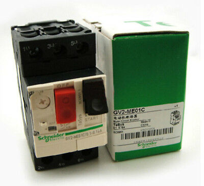 1PCS Schneider GV2-ME01C Motor Circuit Breaker 0.1-0.16A NEW IN BOX