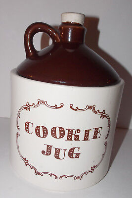McCoy Pottery USA Cookie Jug Jar 9in Vintage Canister Moonshine Whiskey Rare 144
