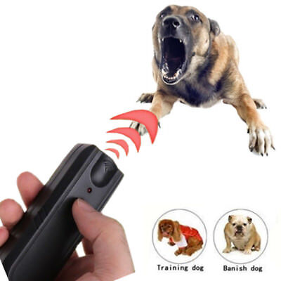 Safe Ultrasonic Anti Bark Control Stop Barking Away Dog Training Repeller Device