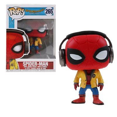 Funko Pop Movies! #265 Action Figure Bobble:Marvel Homecoming:Spider-Man HC Gift
