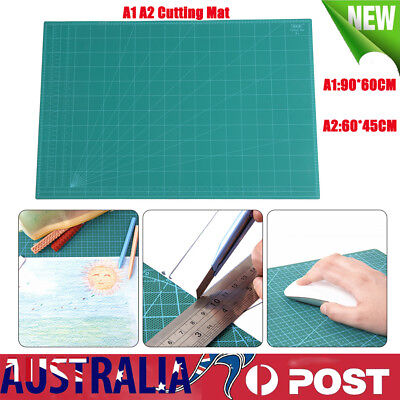 A1 A2 Thick 5-Ply Self Healing Craft Cutting Mat Print Quilting Scrapbooking AU