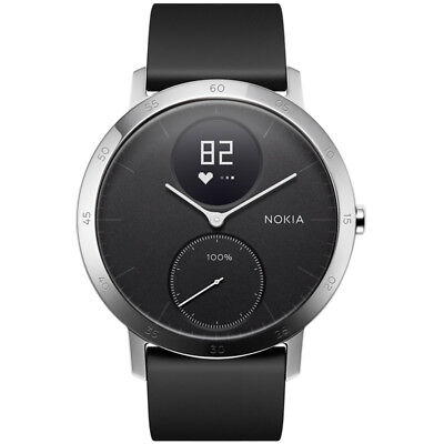 Nokia Steel HR (40mm) Sleep & Activity Tracker Zwart