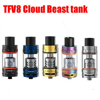 SMOK TFV8 Cloud Beast Tank Kits V8 Baby Replacement Coils Head Atomize Cores 6ml