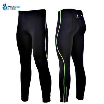 Men's Bicycle Long Pants Leggings Cycling Tights bike Trousers without Pad M-XXL