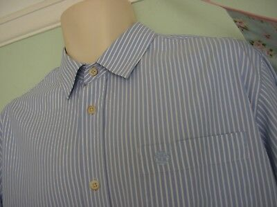 Never Worn Timberland Vintage Inspired Striped Long Sleeve Shirt Sz L