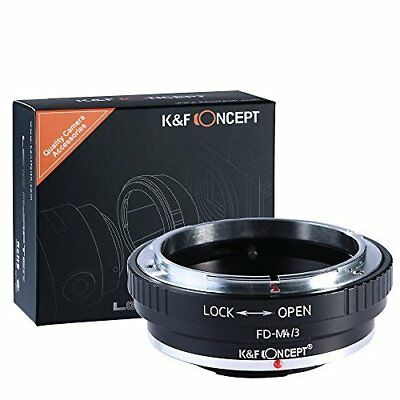 K&F Concept Canon FD to Micro 4 3 Lens Mount Adapter Canon FD to MFT KF06.091