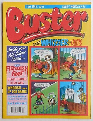 BUSTER COMIC - 18th May 1991