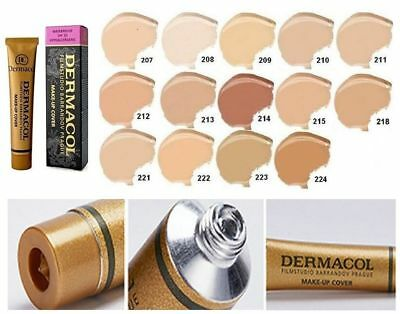 Dermacol High Covering Make Up Foundation Film Studio Concealer Cover Legendary
