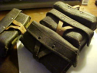 Russian stripper clip pouch- holds 3 ea 10 rounds  7.62X39  7.62 x 39