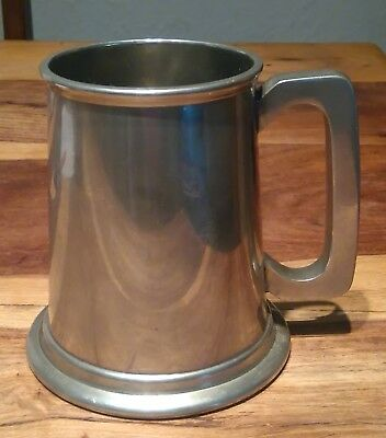 Vintage Viners of Sheffield English Pewter Tankard Made in England Undamaged.