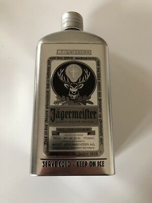 Jagermeister 750ml Tin bottle chiller & holder 750 bottle exact 750 btl fits