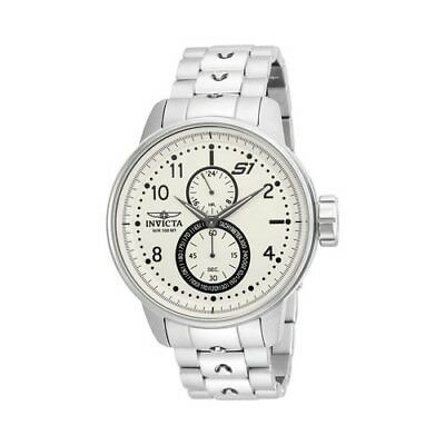 Invicta Men's   S1 Rally 23058 Watch Stainless Steel/Ivory Size OSFA