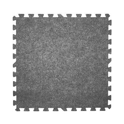 carpet top interlocking mats 100 sq ft gray trade show puzzle tiles floor mat
