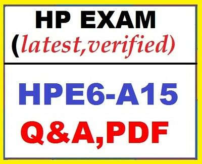 HPE6-A15 -HP Aruba Certified Clearpass Professional v6.5 Exam (Q&A ,Verified)