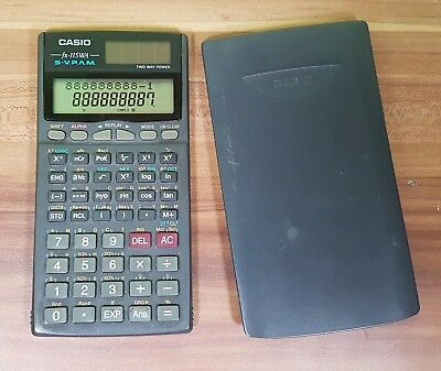 Taschenrechner Casio FX-85MS Solar Two Way Power
