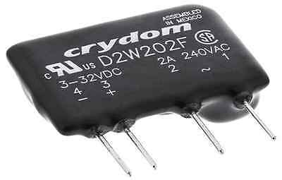 10 x Crydom Solid State Relay, 2A 240V AC Load, 3-32VDC Trigger, D2W202F ZVS NEW