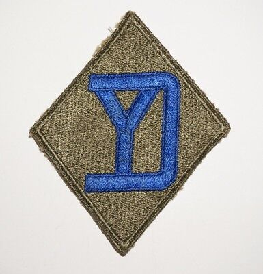 26th Infantry Division Patch WWII US Army P6483