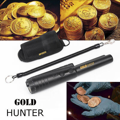 Pro Pointer Metal Detector Gold Hunter Detecting Pinpoint Probe & Holster Q-86