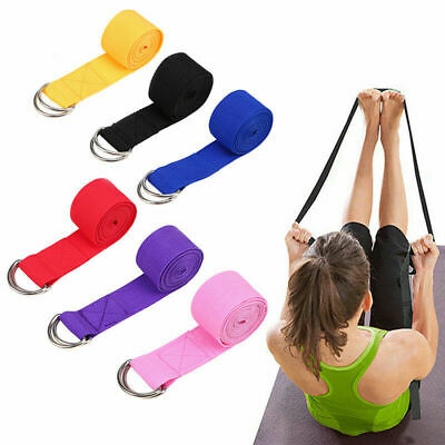 Resistance Yoga Stretching Band Exercise Fitness Strap High Density Ribbon 180cm