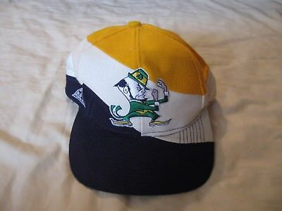 Notre Dame Fighting Irish Vintage Snapback Hat Cap Mens One Size Apex One NCAA