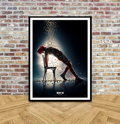 Marvel Deadpool Valentines Day Poster A5 A4 A3 A2 A1 0 99