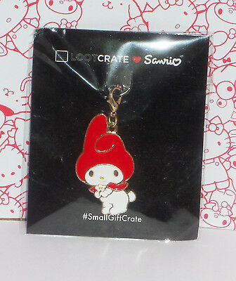 New Sealed Sanrio My Melody Charm / Keychain Set Loot Crate Exclusive! 2017