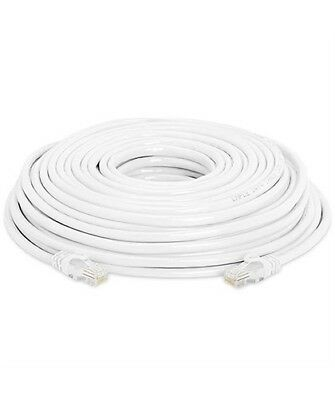 Cat 6 Rj 45 Networking Lan Cable Cca 1000ft 250ft White Wsi New