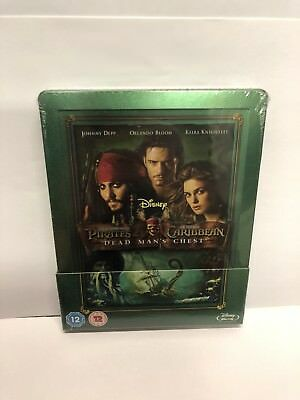 New Sealed Rare Pirates Of The Caribbean Dead Mans Chest Steelbook Blu Ray
