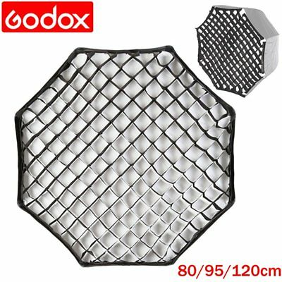 "Godox 80/95/120cm Octagon Honeycomb Softbox Grid For 47"" Umbrella Studio Flash"