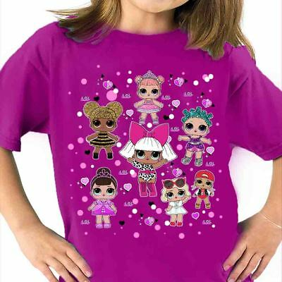 T-Shirt Lol Surprise Doll Ball Diva Bambola Sorpresa T Shirt Maglietta